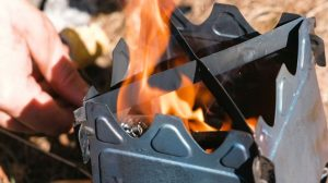 Folding wood burning camping stoves UK 2021