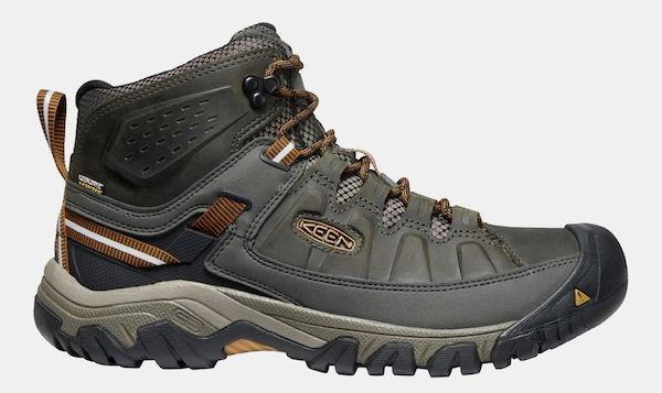 Keen wide fit walking boots