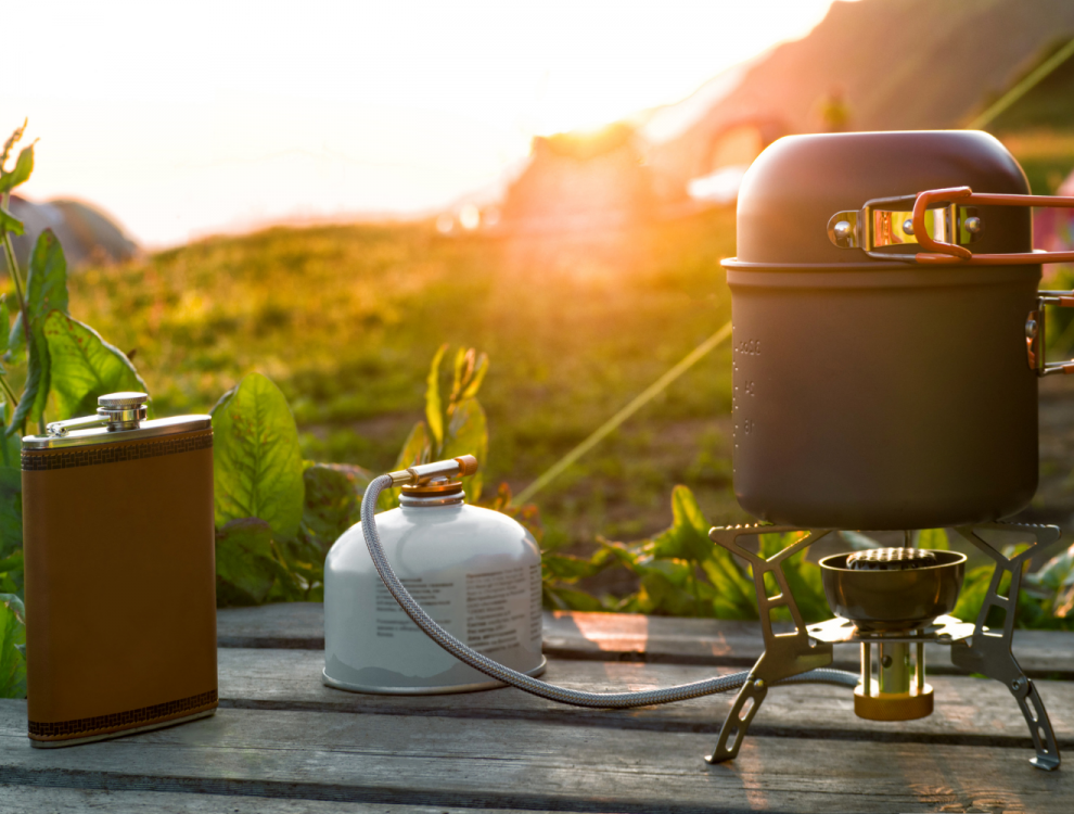 Camping stoves with a separate hose (UK available)