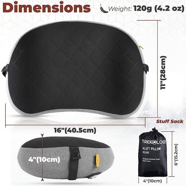 Trekology Aluft Deluxe dimensions