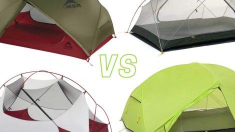 Naturehike Mongar 2 vs MSR Hubba Hubba spec comparison