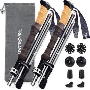 Trekology Trek-Z Trekking Poles cork handles